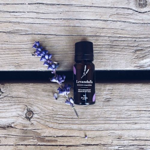 pura product levandula ogranicky esencialny olej vnutrone pouzitie
