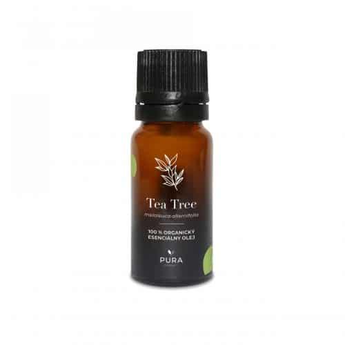 Tea Tree organický esenciálny olej fľaša