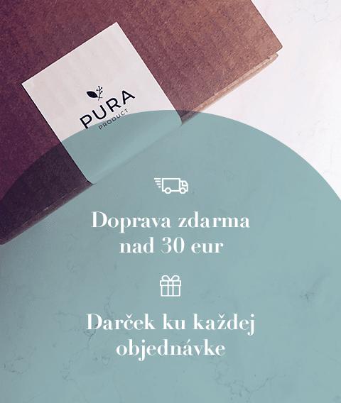 Doprava zdarma nad 30 eur a darček ku každej objednávke